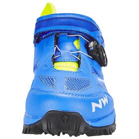Northwave Enduro Mid schoenen Heren geel/blauw